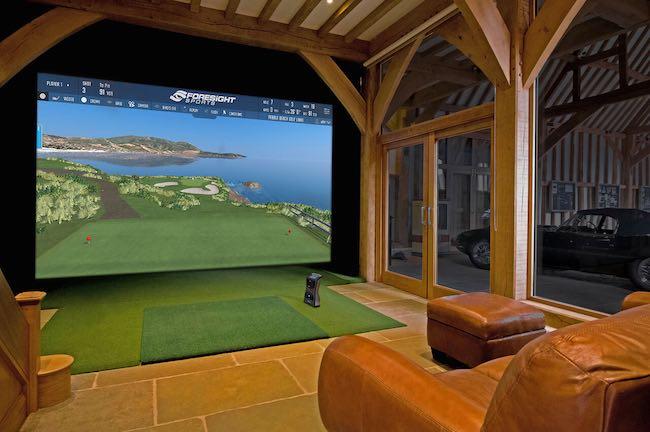 home golf simulator foresight gcquad